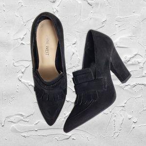 Nine West NW7Birchwood Black Heels Sz 5.5